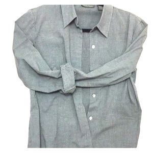 Wrinkle resistant banana republic blouse